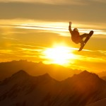 Snowboard-Photo-Jan-Scherrer-Sunset-Kitzsteinhorn-by-Vernon-Deck