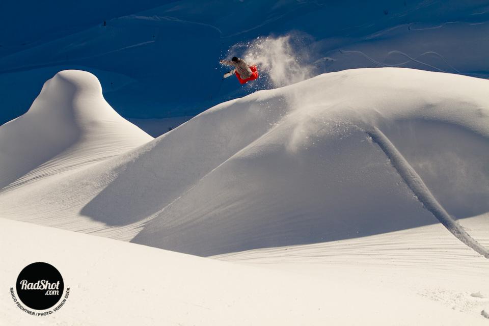 Marco Feichtner / Backside Air / Montafon, Austria