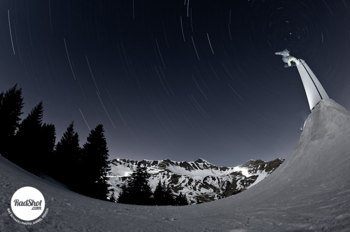 Snowboard-Photo-Mat-Schaer-Star-Trails-Switzerland-by-Ahriel-Povich