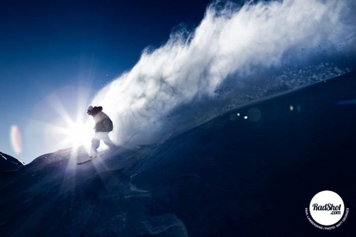 Snowboard-Photo-Paul-Lambersens-Powder-Sunlight-Avoriaz-by-Matt-Georges
