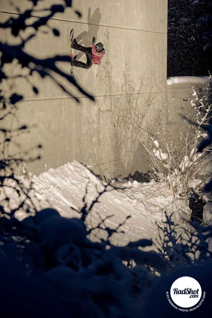 Snowboard-Photo-Alex-Andrews-Wallride-Alaska-by-Dean-Blotto-Gray