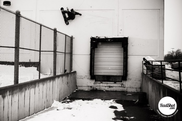 Snowboard-Photo-Johnnie-Paxson-Wallride-Utah-by-E-Stone